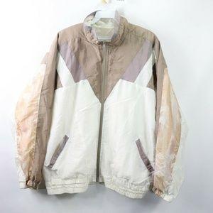 Vintage Southwestern Navajo Print Jacket Womens M